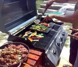 Barbecue a gas consigli per scegliere la griglia migliore for Bricoman barbecue