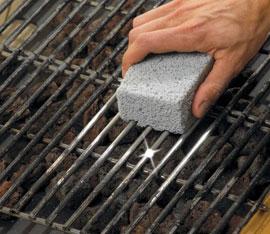 pulizia e manuntenzione della griglia